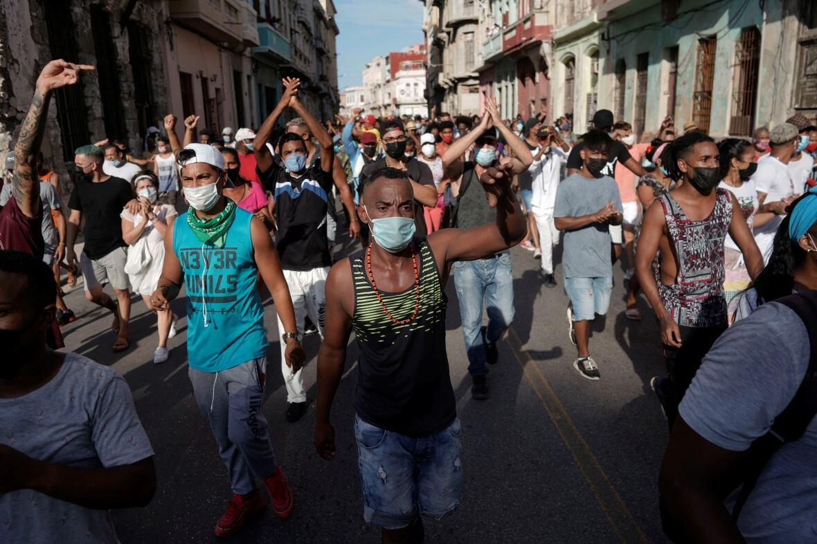 President Biden Shows Support for Cuban People in Anti-government Protests