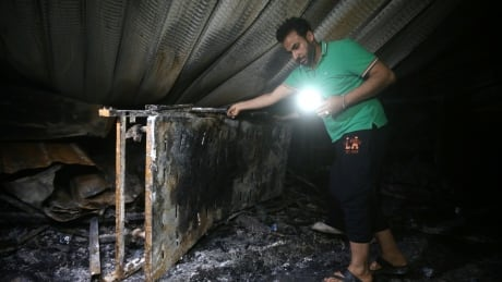 IRAQ-FIRE/HOSPITAL