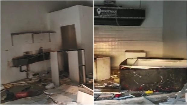 'It looked like a bomb went off,' says owner of looted South African restaurant