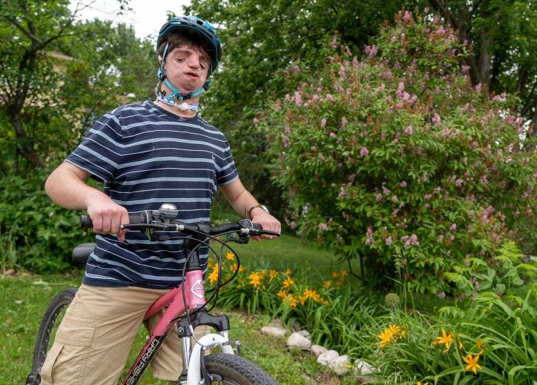 zack on bike