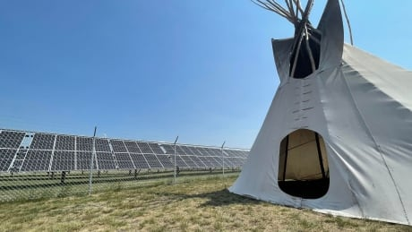 Solar panels Cowessess First Nation