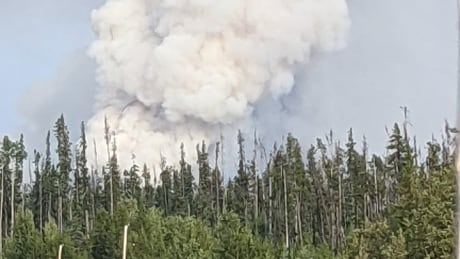 camsell lake fire