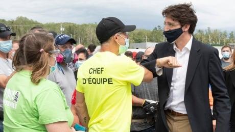 Trudeau Gaspe 20210714