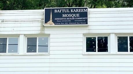 Baitul Kareem Mosque exterior Cambridge