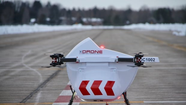 Drone delivery project takes off this fall at Edmonton International Airport