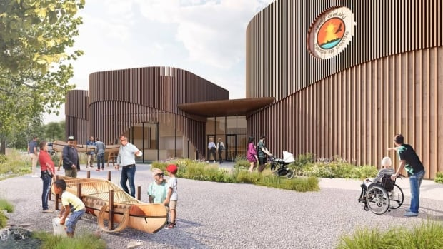 Design for a proposed Indigenous friendship centre in Fredericton unveiled