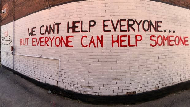 No words: Social enterprise told to remove wall mural with positive message