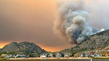 Inkaneep Creek wildfire