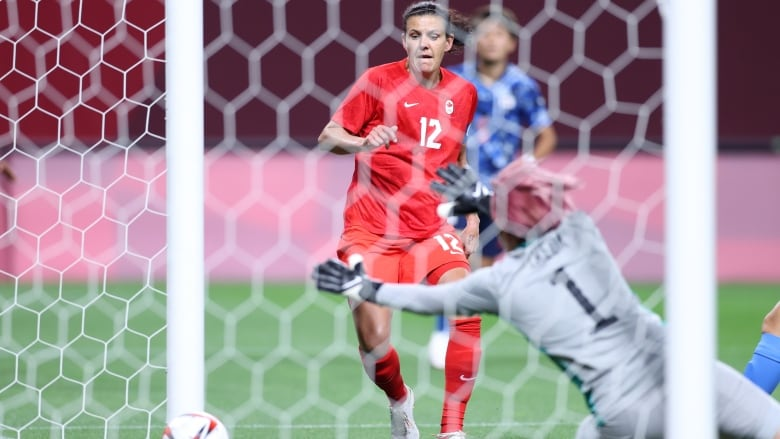 Canada's women's soccer team opens Olympics with draw against favoured Japan    CBC Sports