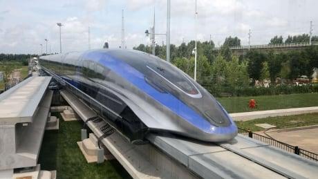 CHINA-TRAIN/MAGLEV