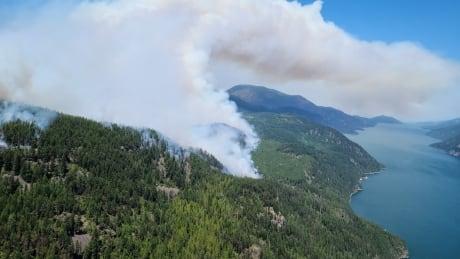 Michaud Creek Wildfire