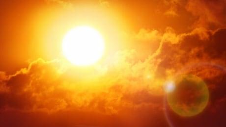 Sun heat wave