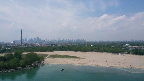 Woodbine Beach - Drone