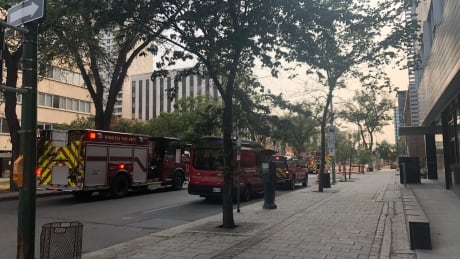 Broadway and Donald Street gas leak investigation