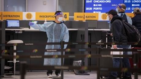 Pearson airport COVID-19 Toronto