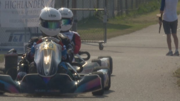 Go-karting appeals to young and old who have a need for speed | CBC News
