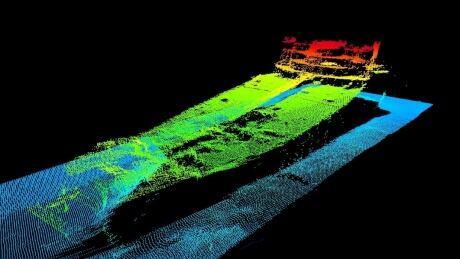 Flemish Pass shipwreck July 2021