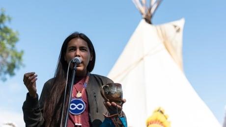 Sask Teepee Protest 20200911