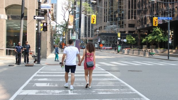 Toronto makes subtle change to traffic lights to reduce pedestrian deaths   CBC News