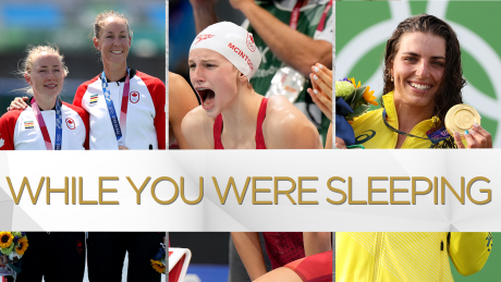While You Were Sleeping: Canadian medal No. 10, plus national records broken in the pool