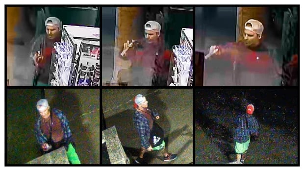 Winnipeg police are asking for help finding a man they believe vandalized several businesses along Pembina Highway with hateful graffiti that included swastikas last week.