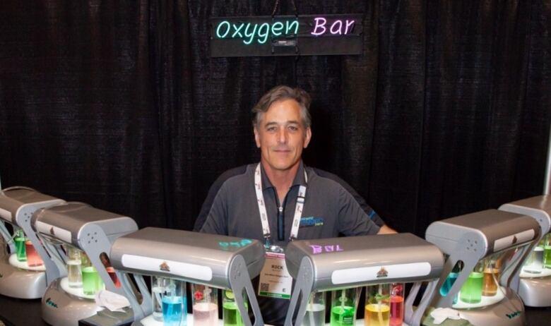 rick mcvicar at his oxygen bar