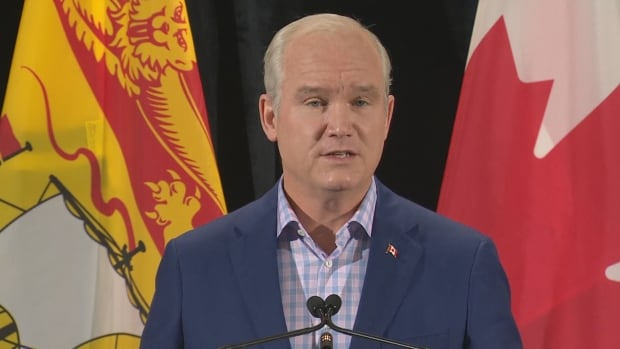 Erin O'Toole says he'd let New Brunswick decide how to fund abortions
