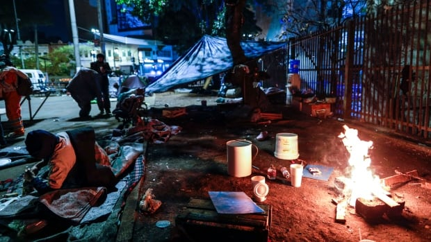 Cold snap leaves Brazilian authorities scrambling to support homeless population