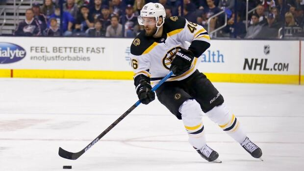 David Krejci leaves Bruins for Czech league, Grubauer eyes record books with Kraken   CBC Sports