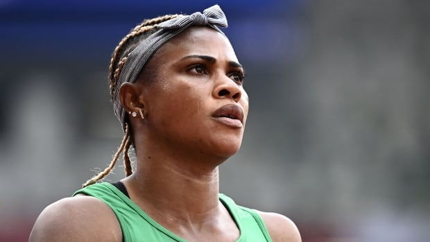 Nigerian sprinter Okagbare out of Olympics after testing positive for human growth hormone
