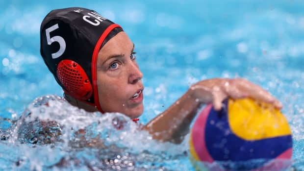 After 17-year journey back to Games, Canadian women's water polo team meets powerhouse U.S. in quarters | CBC Sports