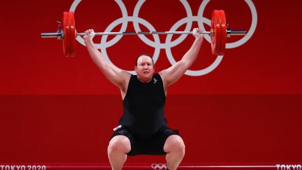 Laurel Hubbard, 1st openly transgender Olympic weightlifter, competes in Tokyo | CBC Sports
