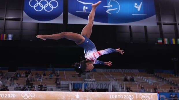 Olympic wake-up call: Simone Biles, Ellie Black inspire on beam, kayaker wins 2 gold in 1 hour   CBC Sports