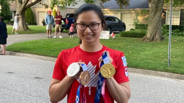 Canada's Maggie Mac Neil named Best Female Athlete of Tokyo 2020