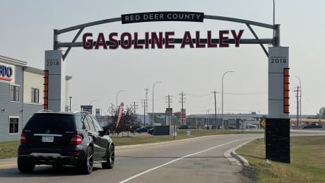 Gasoline Alley sign