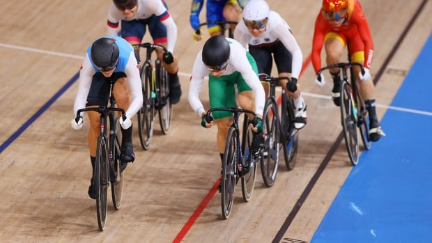 Canada's Mitchell, Genest advance to quarters of women's keirin in track cycling