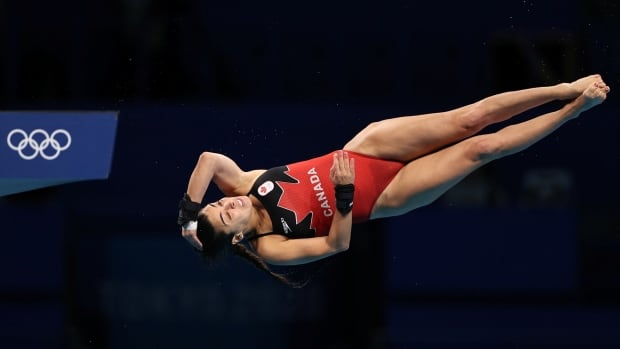 Canadian Meaghan Benfeito soars into diving 10m platform semifinal