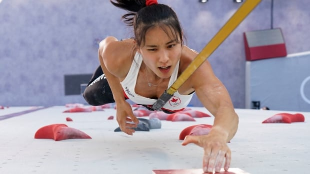 Canada's Alannah Yip slips out of sport climbing medal contention in Tokyo