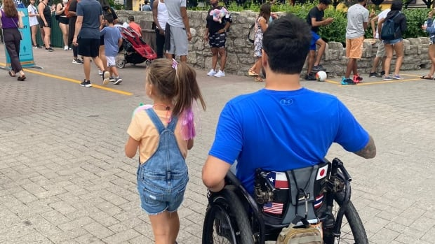 Man with disability feels 'belittled' after Canada's Wonderland denies him access to all its rides