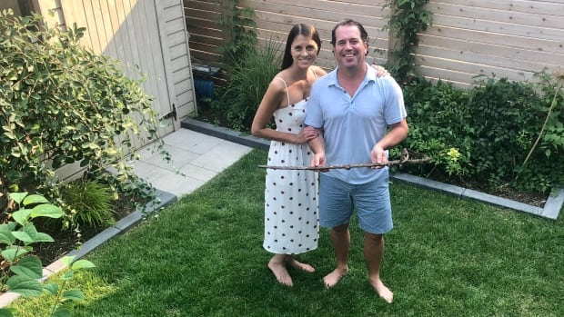 Ottawa family has mystery on its hands after sword unearthed in backyard by contractors