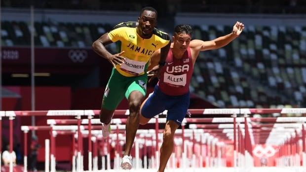 Jamaica's Hansle Parchment claims gold in men's 110m hurdles