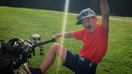 Charlie hole in one
