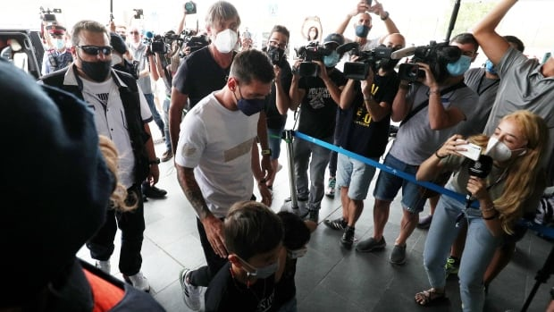 Lionel Messi leaves Barcelona after striking deal to join Paris Saint-Germain club