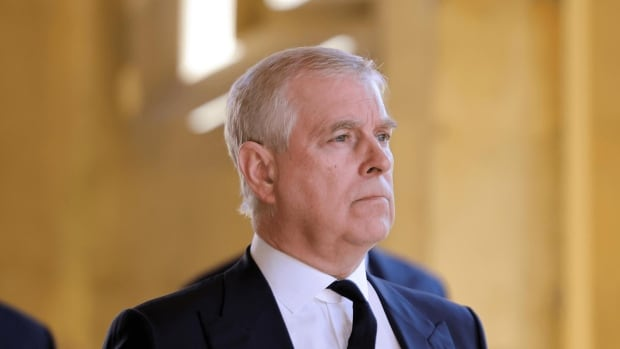 British police say they won't charge Prince Andrew over sex assault claim