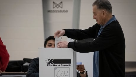 GTA voter casting ballot in Federal Election 2019