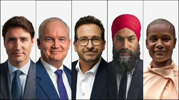 Where the main party leaders are on the final day of the federal election campaign | CBC News
