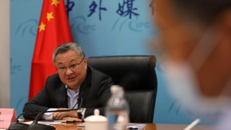 Fu Cong speaks at news conference in Beijing
