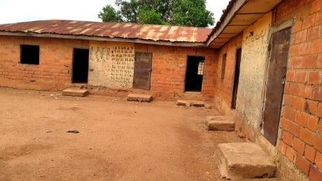 Exterior view of classrooms of Salihu Tanko Islamic School in Tegina, Nigeria