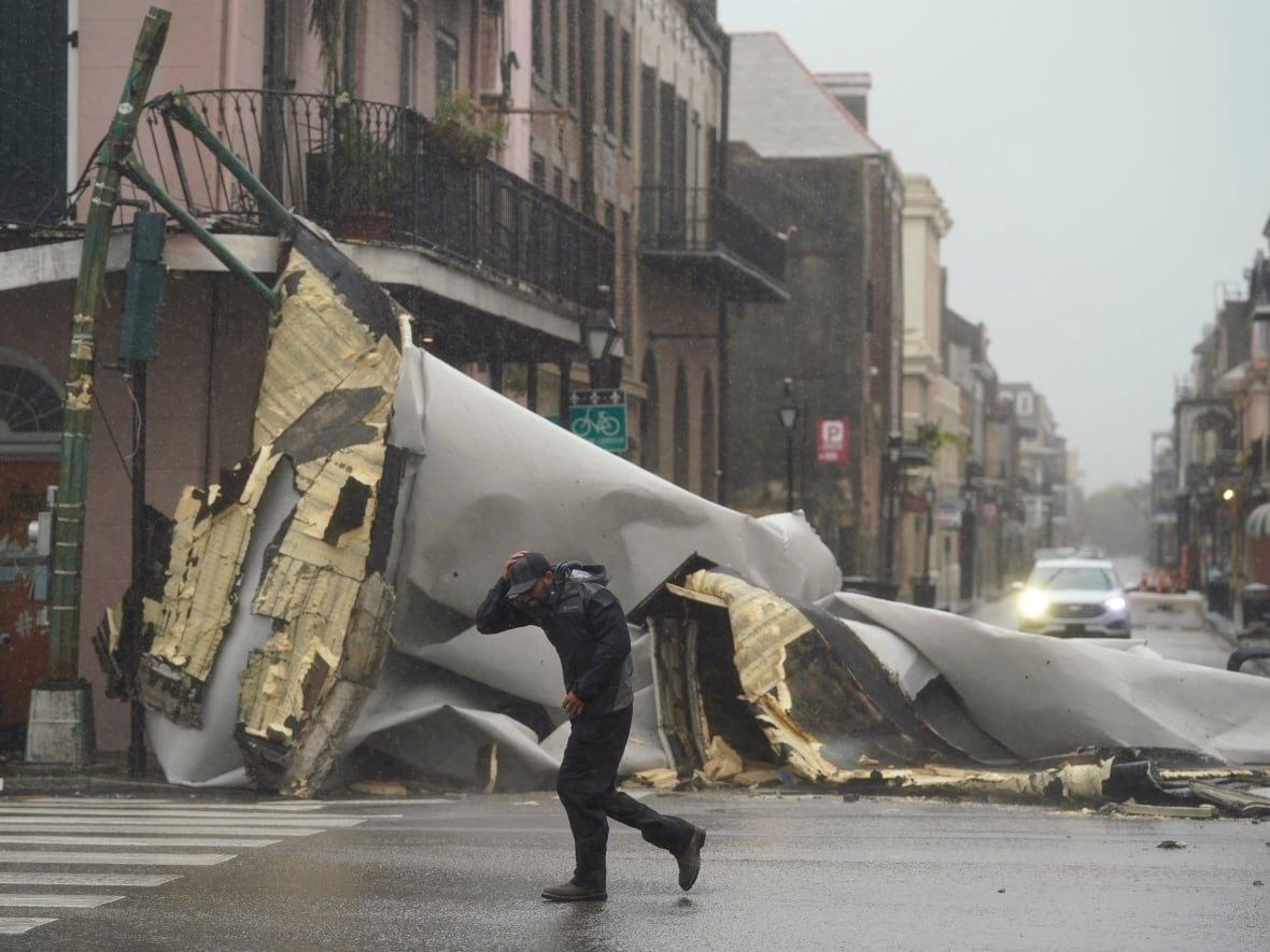 Power out to all of New Orleans, 1st death reported as Hurricane Ida  hammers Louisiana   CBC News