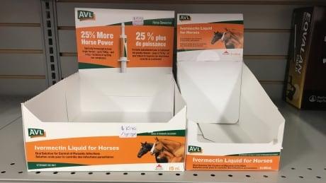 Empty ivermectin boxes